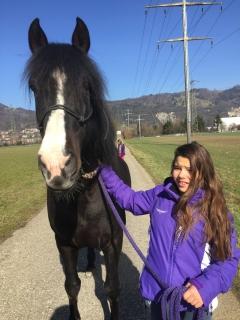 Pferderspatziergang mit Sheela 025