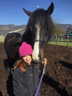 Pferderspatziergang mit Sheela 070