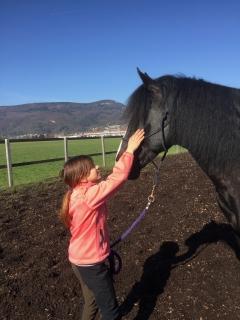 Pferderspatziergang mit Sheela 098