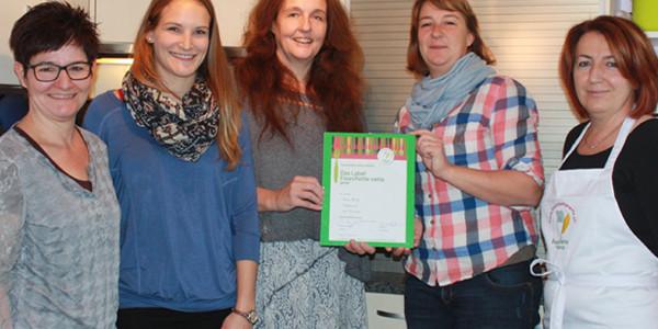 """Erstes Kinderheim mit Label """"Fouchette verte"""""""
