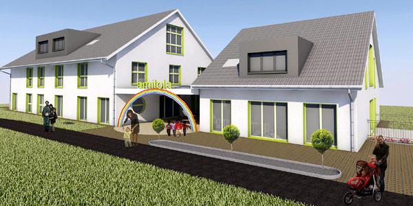 Neues Wohnhaus geplant