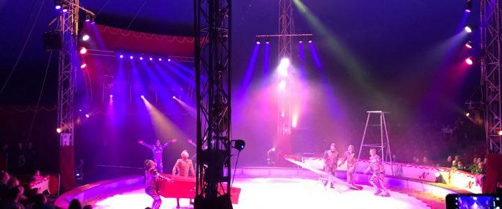 Mit Kiwanis Weissenstein in den Zirkus NOCK